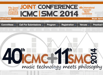 "Enrique Mendoza es seleccionado en la ""40th International Computer Music Conference"""