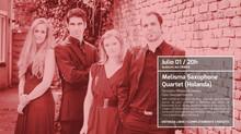 Land Expressionsde Enrique Mendoza será interpretada por Melisma Saxophone Quartet.