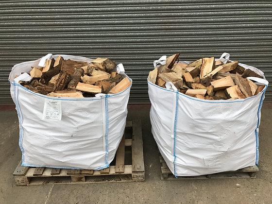 2 x Bulk Bags of Hard Wood