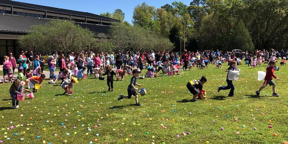 Saturday | April 20 – Easter Egg Hunt/Block Party Cookout (10 a.m. – 12 p.m.) PSC Milton Campus