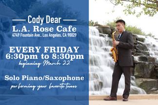 Event Poster: LA Rose