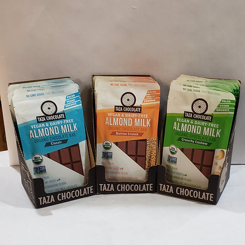 Taza Chocolate Almond Milk Bars