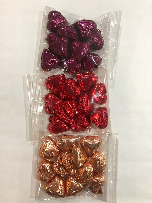Small Chocolate Hearts Bag