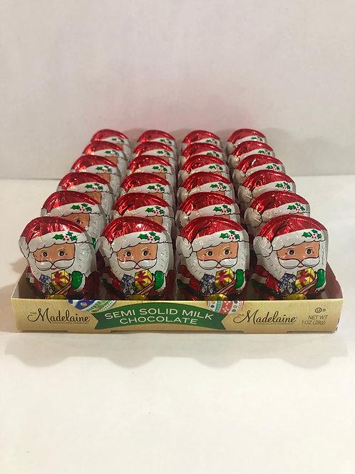 Small Foil Wrapped Santas
