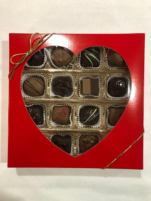 Assorted Heart Chocolate Box