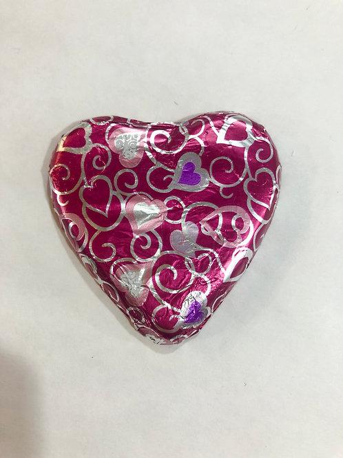 Milk Chocolate Pink Heart