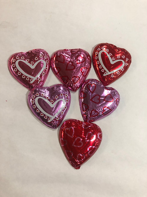 Assorted Milk Chocolate Hearts