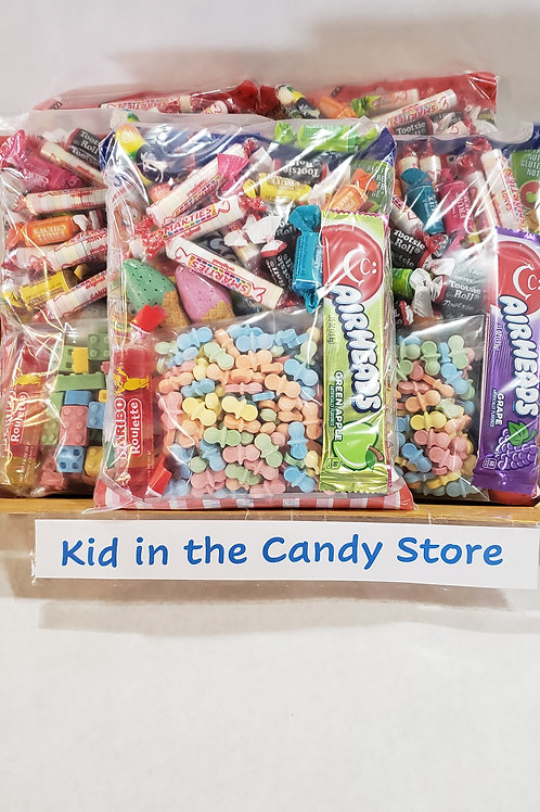 Kid in the Candy Store