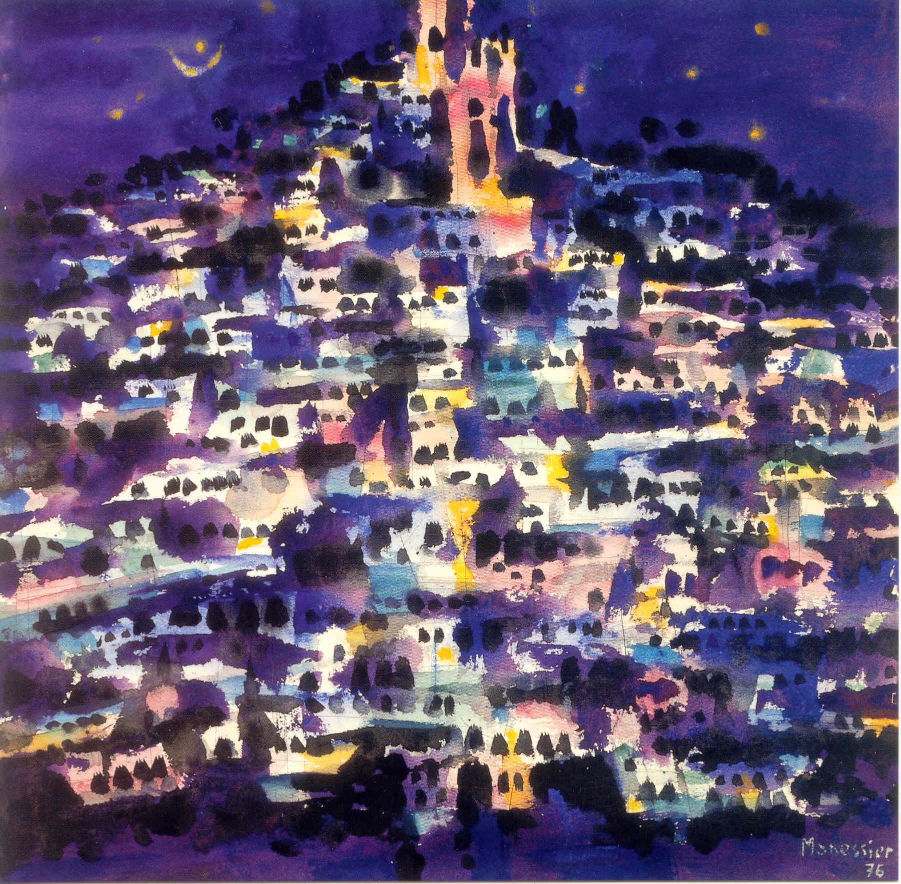 Ghardaïa la nuit