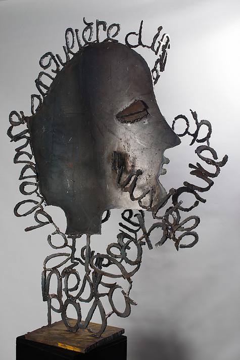 Il n'est pas à la beauté, métal, 2013