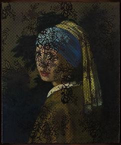 Olivier Masmonteil, Jeune fille à la per