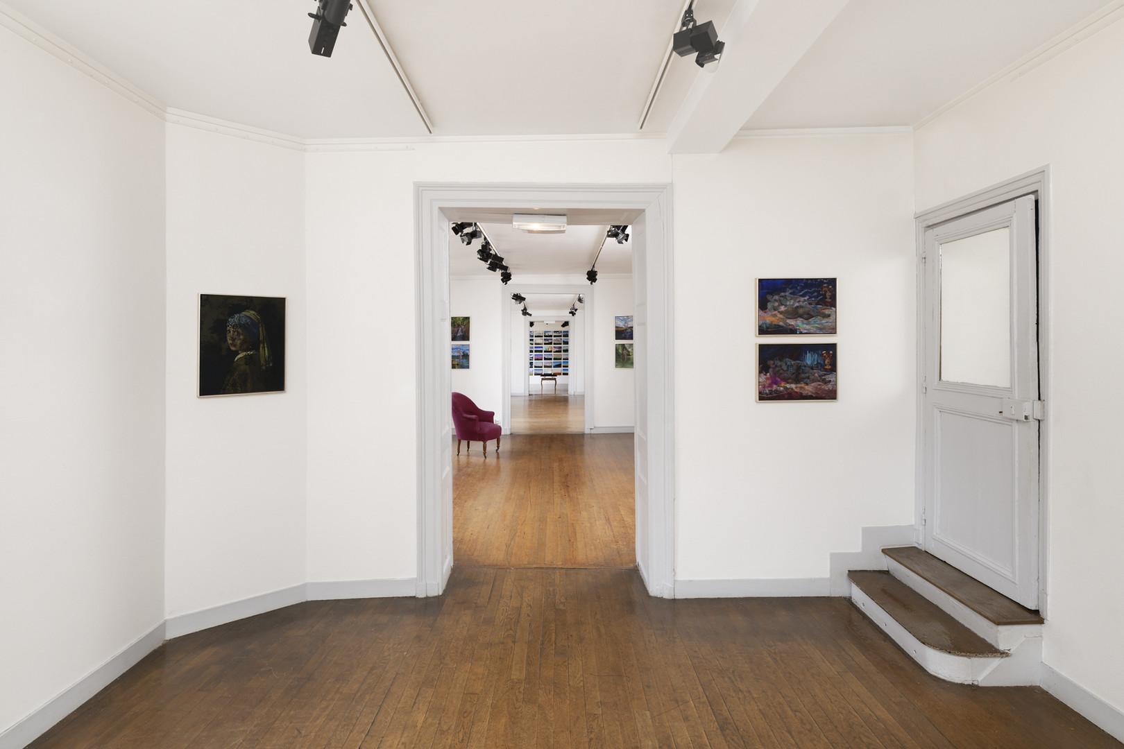 Vue de l'exposition d'Olivier Masmonteil - Photo Aurélien Mole