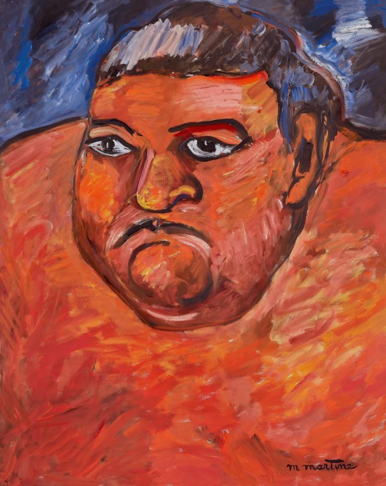 Portrait de sumo