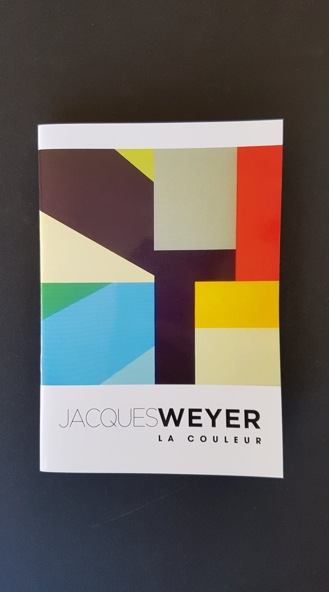 Jacques Weyer. La couleur