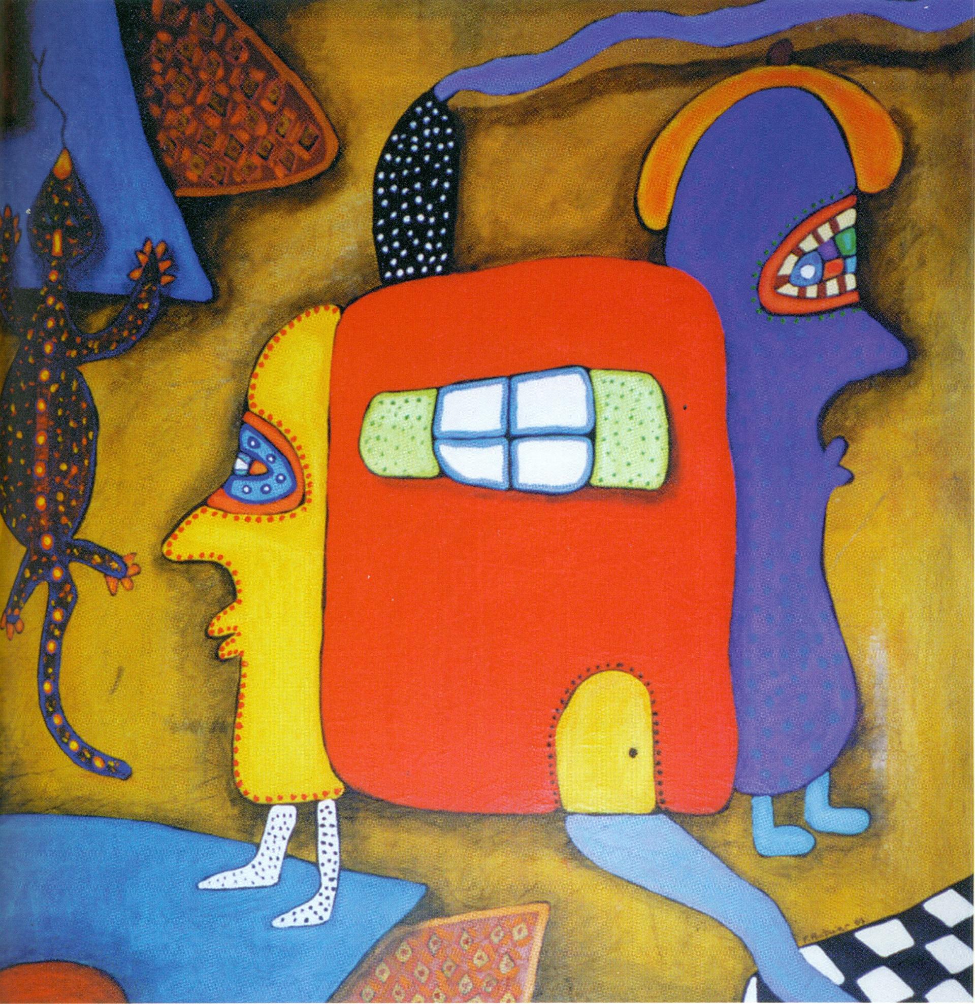 F. Pontanier, La Maison rouge 1999