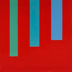 opera 2 2006 acrylique sur toile 90 x 90 cm