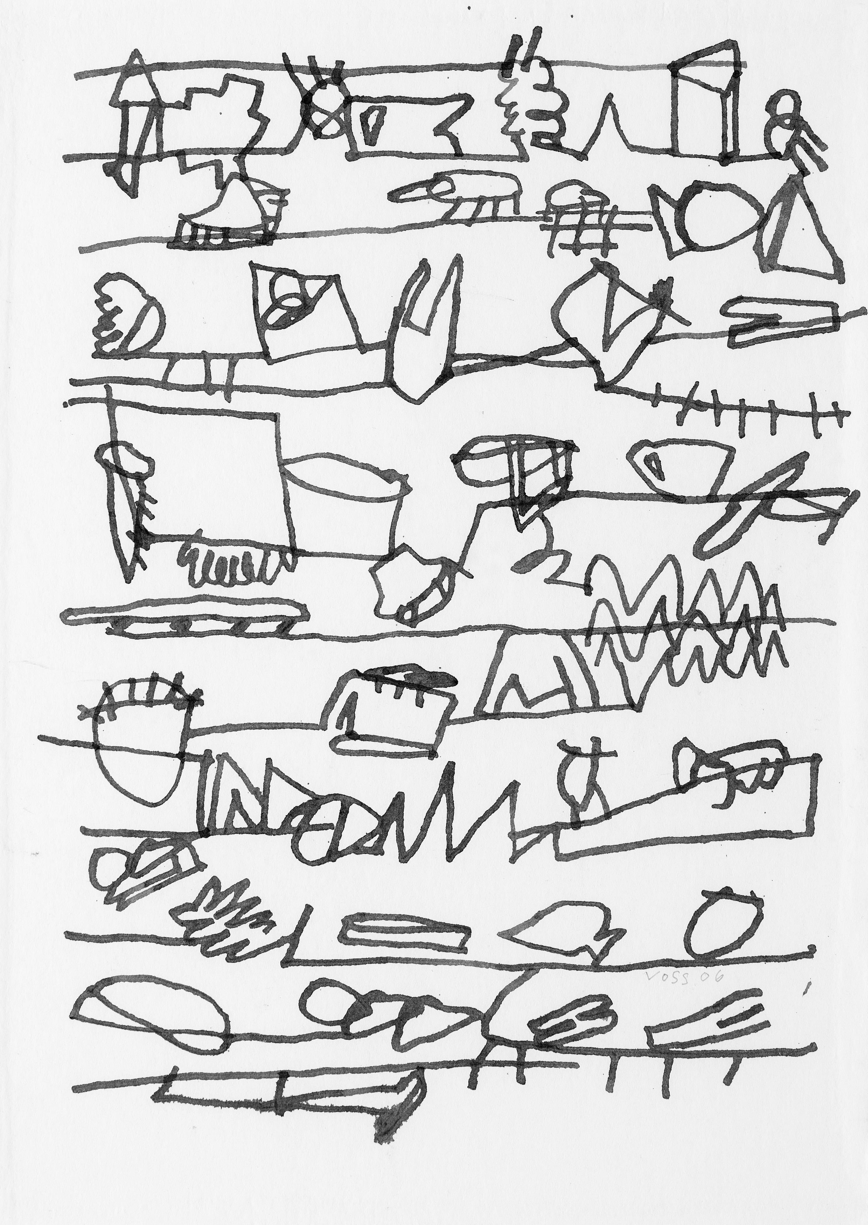 Jan Voss, Correspondance intime, 2006