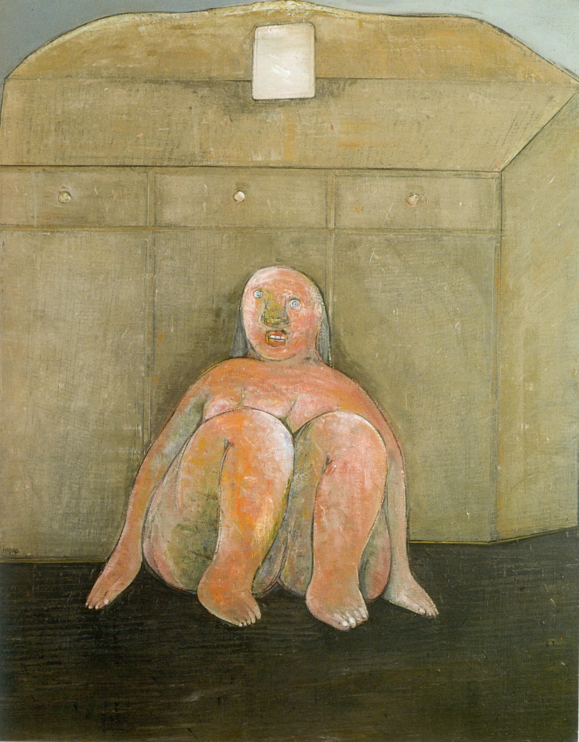 A. Hadad, Le meuble à trois tiroirs