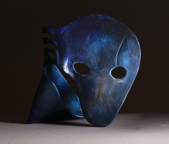Mémoire, 2015, acier patiné