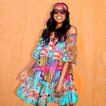 KENYA PINK DRESS