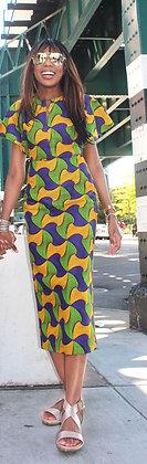 LAILA YELLOW DRESS