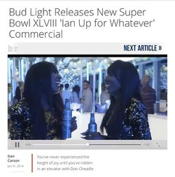 BUDLIGHT SUPERBOWL COMMERCIAL