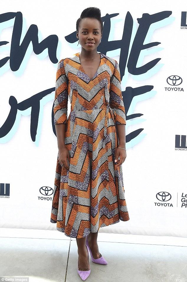 Actress Lupita Nyong'o