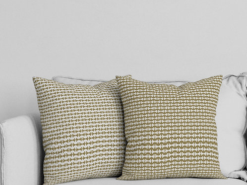 Ripple Pillow in Gold