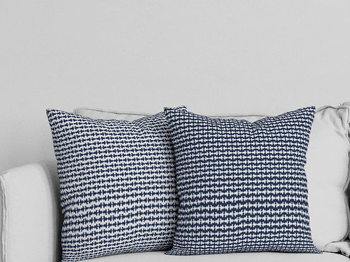 Ripple Pillow in Blue