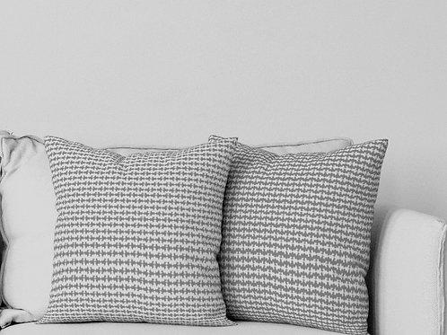 Ripple Pillow in Gray