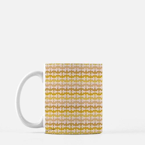Ripple Mug in Yellow - Set of 2