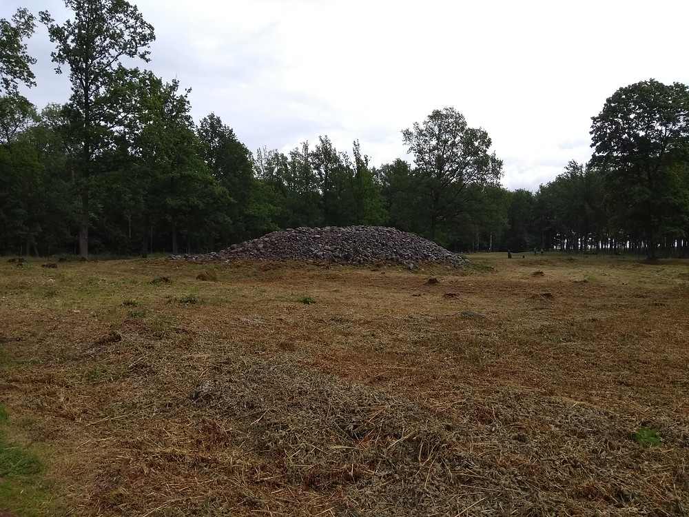 One of the Borre Cairns