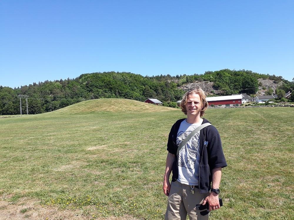 Visiting the Gokstad Mound