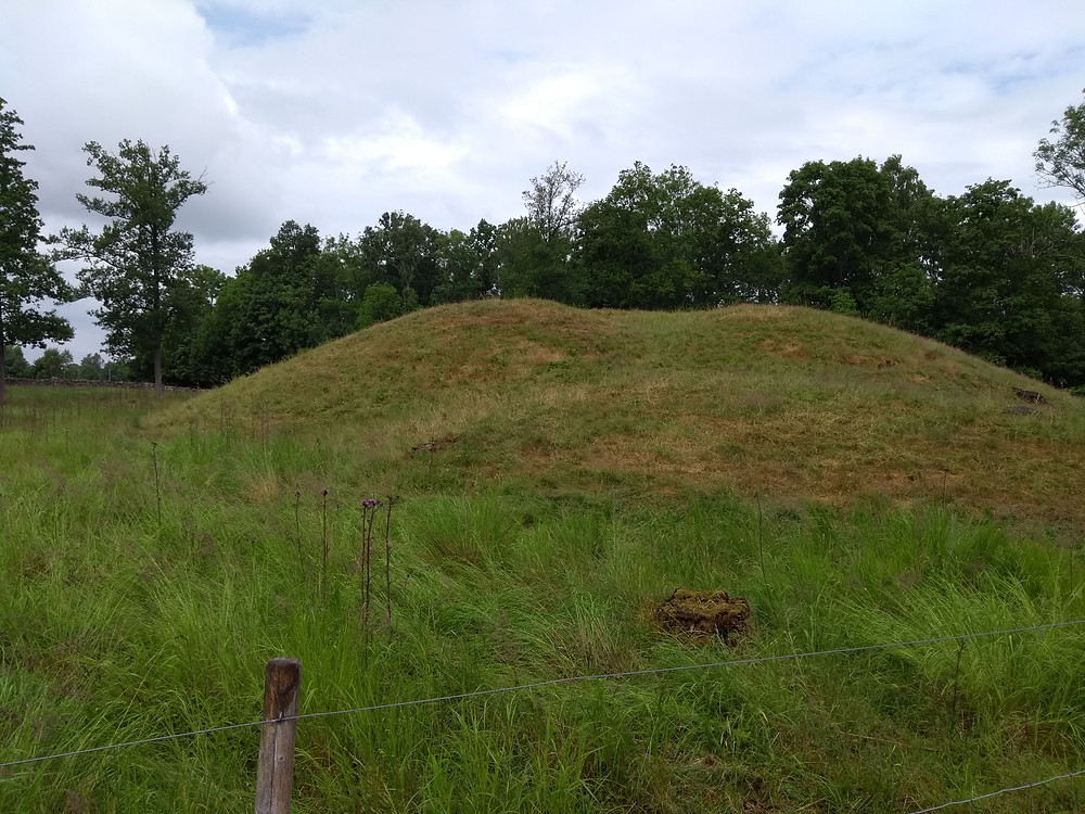 One of the Borre Mounds