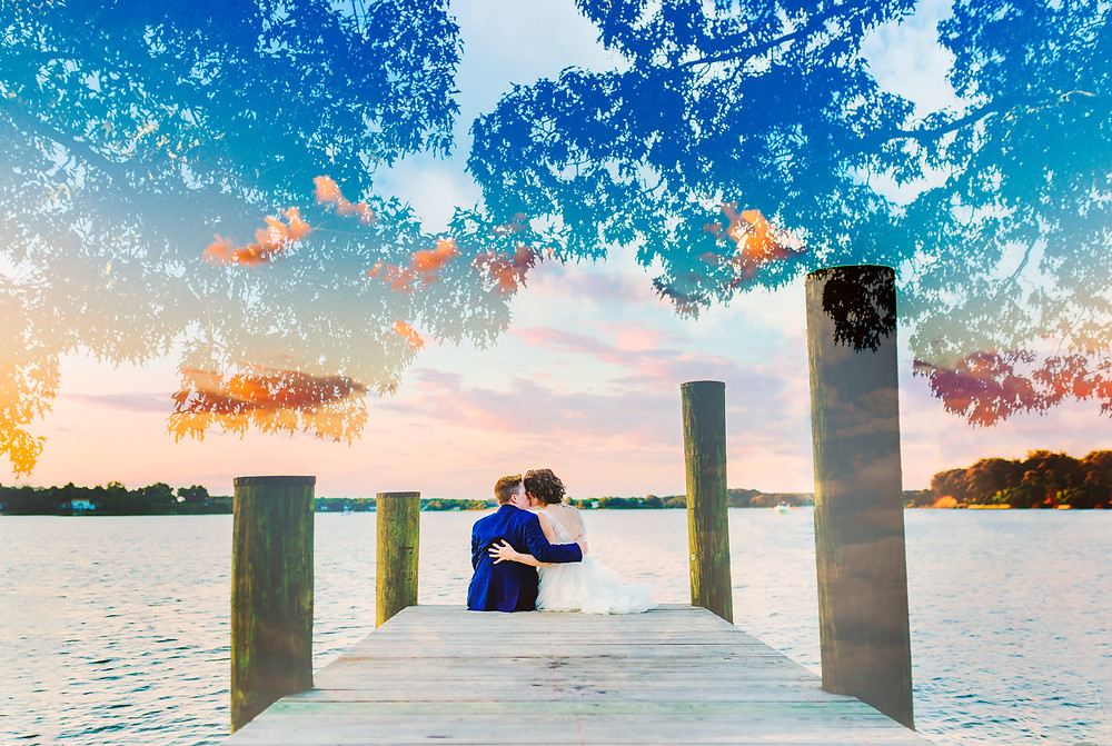 Annapolis Wedding Photographer-Couples Photos by the water
