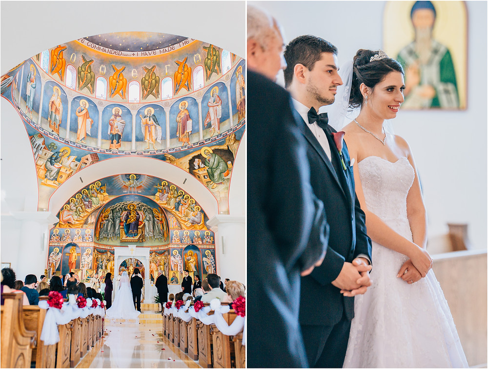 traditional greek orthodox wedding baltimore maryland