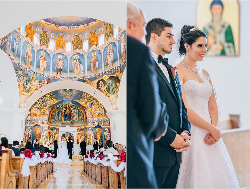 traditional greek orthodox wedding baltimore maryland