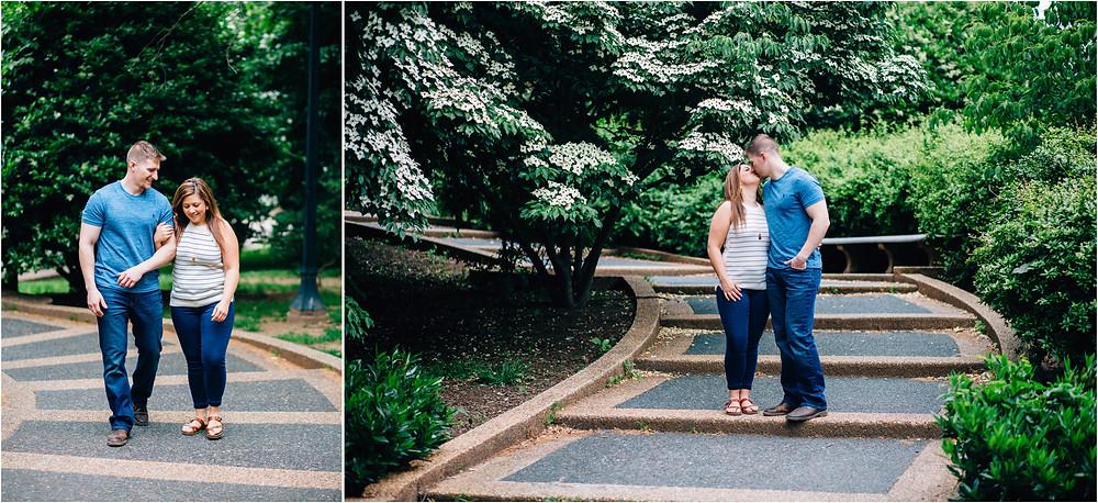 Meridian Hill Engagement - D.C Wedding Photography