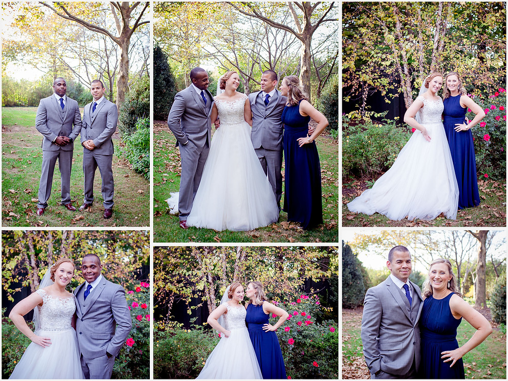 Wedding Party Ceresville Mansion Frederick Maryland