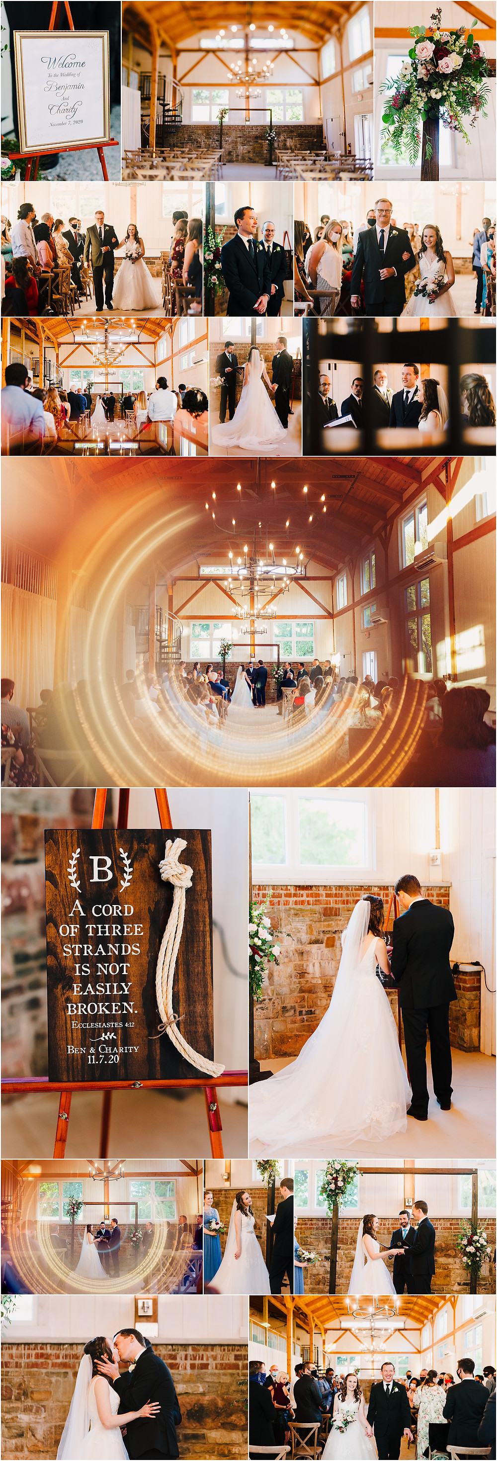 Tannery Barn Wedding Ceremony Maryland Wedding Photography