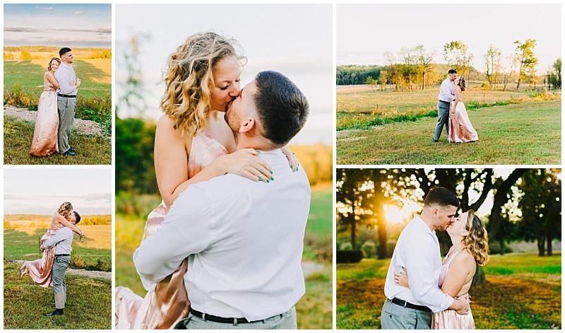 Fall Engagement Portraits - Maryland Wedding Photographer