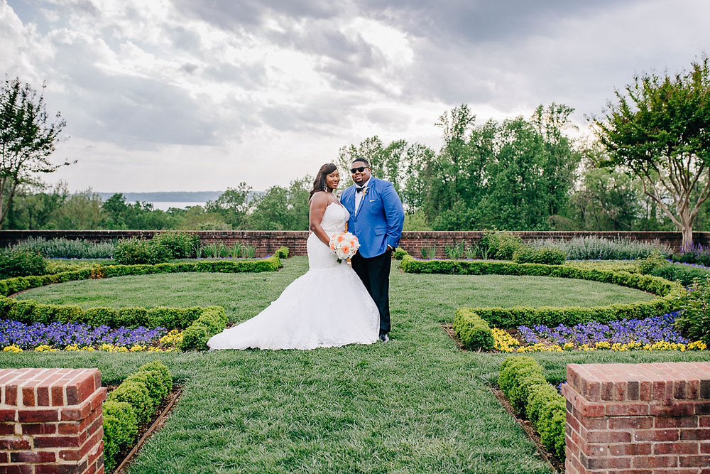 Spring Bridal Portraits - Maryland Wedding Photography - Oxon Hill Manor