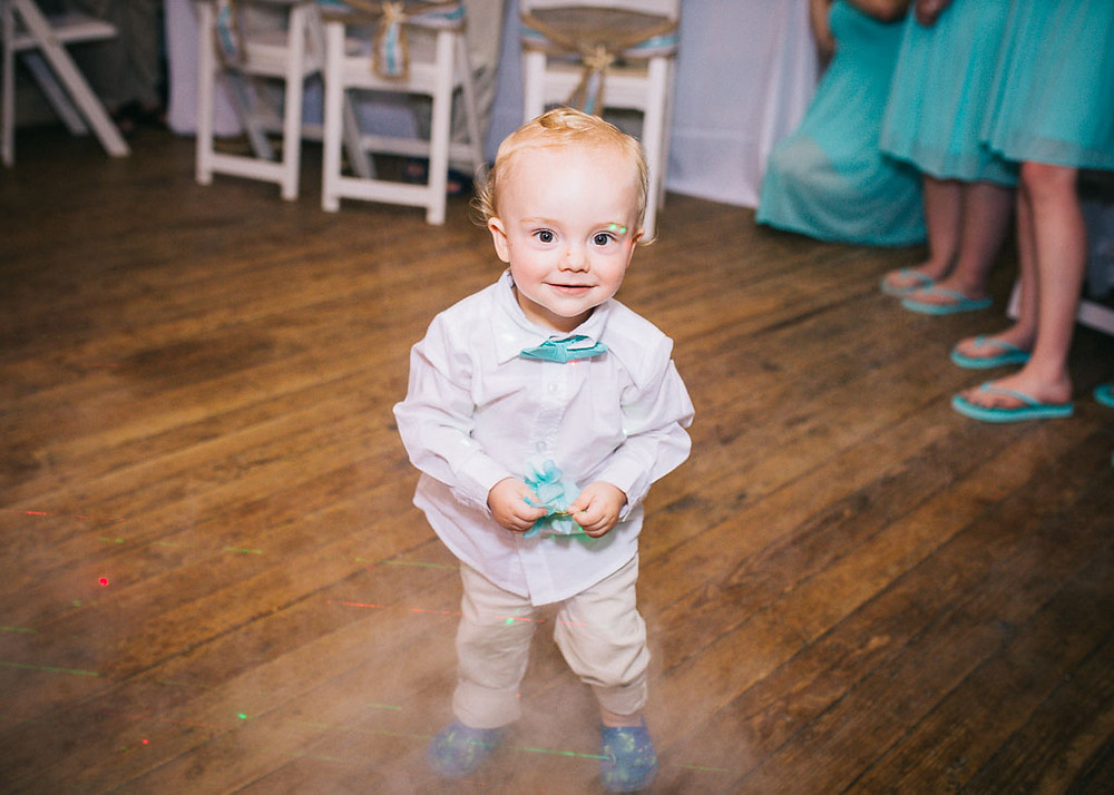 The cutest little ring bearer - Maryland Wedding Photographer - Katherine Elizabeth Photography