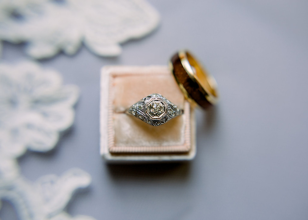 Heirloom Rings - Maryland Wedding Photography