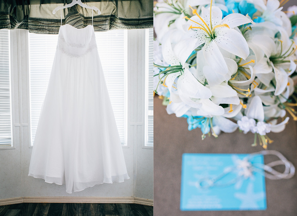 Wedding Gown - Maryland Wedding Photographer - Katherine Elizabeth Photography