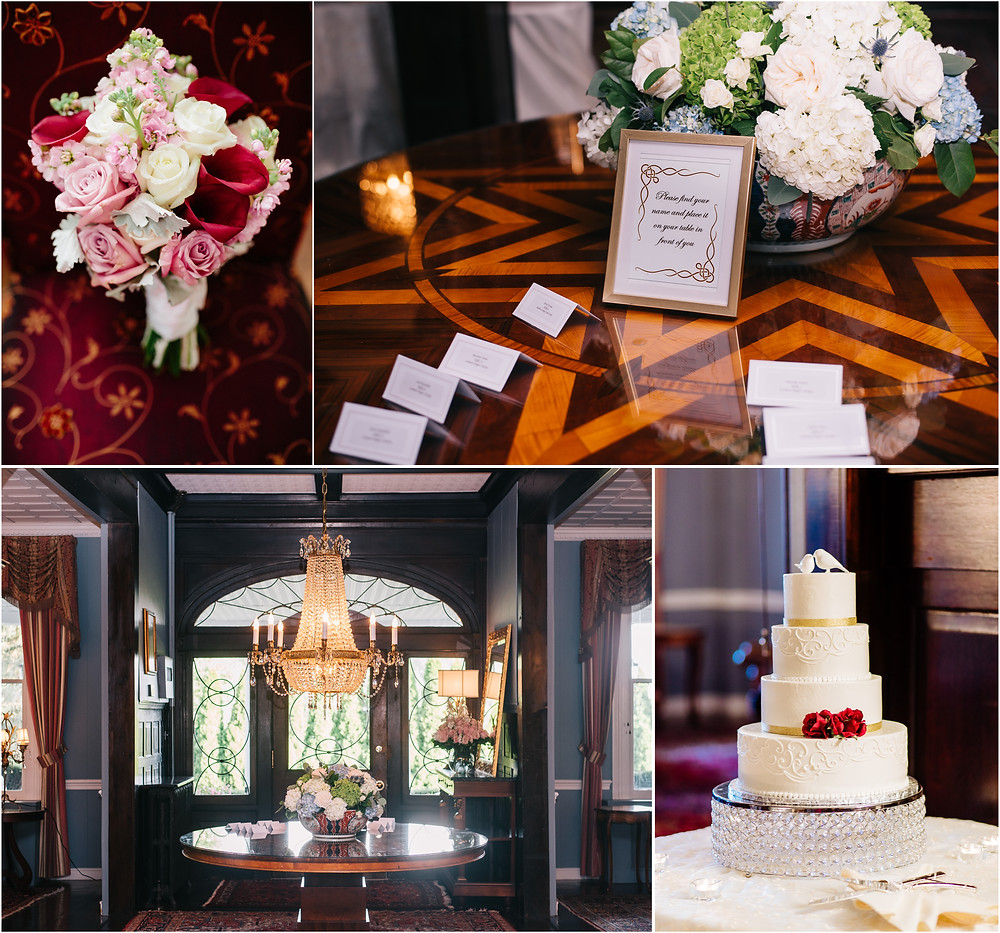 Details at the Mansion at Valley Country Club