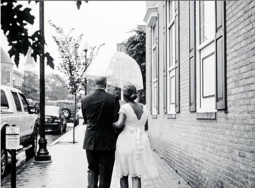 6 Tips for Thriving on a Rainy Wedding Day   Maryland Wedding Photographer