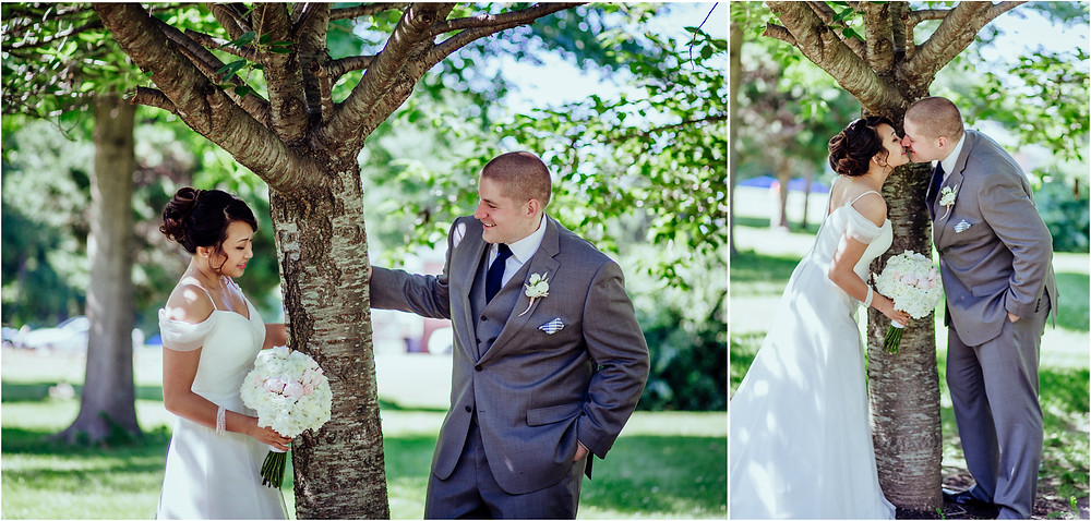 Baltimore Wedding - June Bride and Groom Portraits - Baltimore Wedding Photography