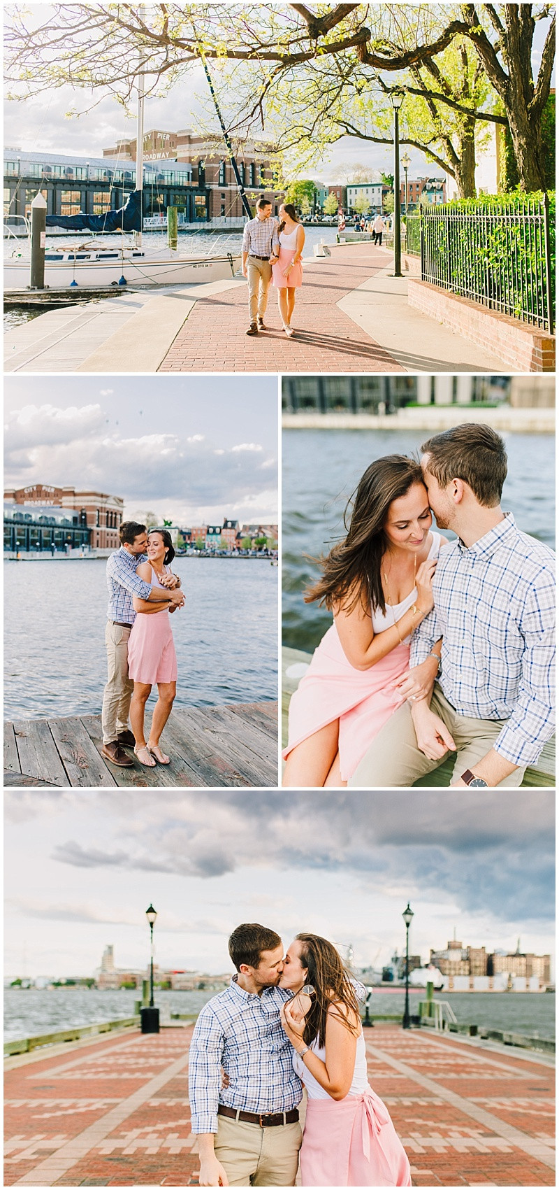 Baltimore Harbor Engagement Session
