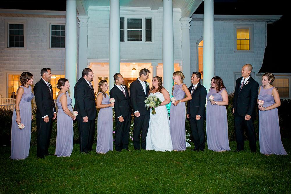 Night Portraits Overhills Mansion Maryland Wedding Photographer